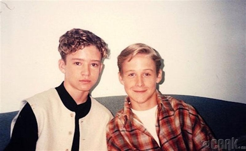 """Mickey Mouse Club"" телевизийн шоуны од Жастин Тимберлейк (Justin Timberlake) болон Райн Гослинг (Ryan Gosling) нар, 1994 он"