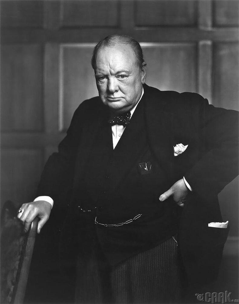 Уинстон Черчилль, 1951 он