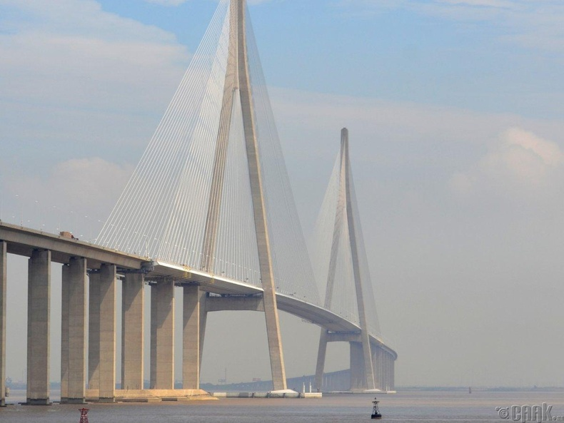 """The Su-Tong Yangtze River Bridge"" - 7.89 тэрбум доллар"