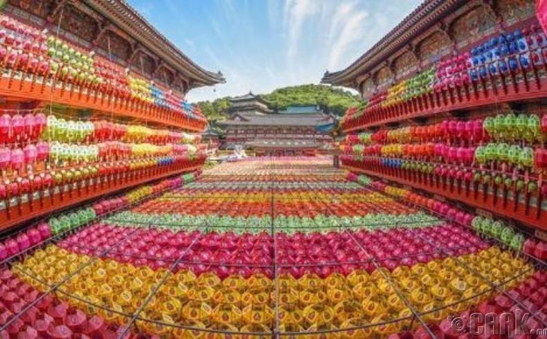 Самгвангс сүм, Өмнөд Солонгос