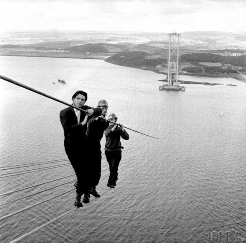 Шотландын хурдны замын гүүр барих ажил, 1961 он