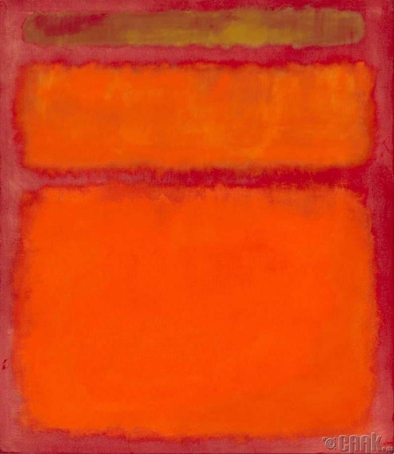 "Марк Ротко ""Улбар шар, улаан, шар"" - 86.9 сая доллар."