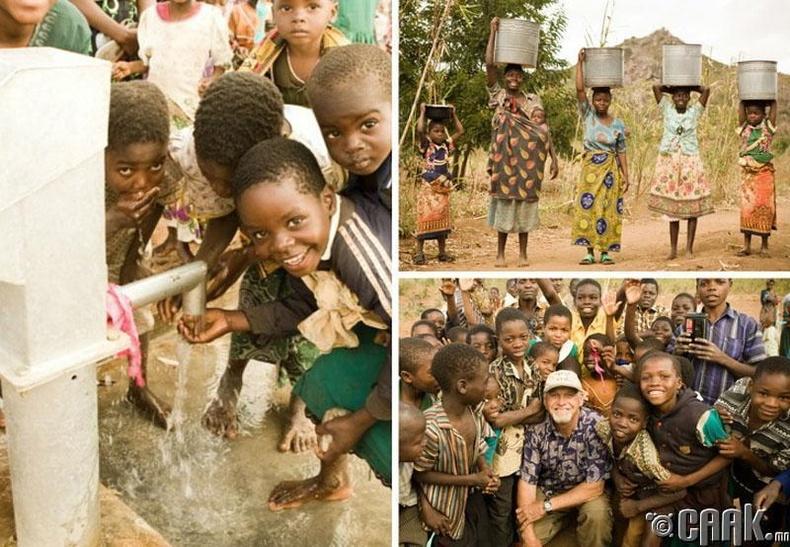 """""""Африкчуудад зориулсан цэвэр усны цорго"""""""