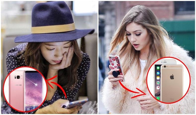 """""""iPhone"""", """"Android"""" хоёрын аль нь илүү вэ?"""
