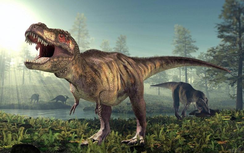 Tираннозавр Стегозавруудын амьдарч байсан үеэс илүү хүмүүсийн амьдарч байгаа үетэй ойр амьдарч байсан