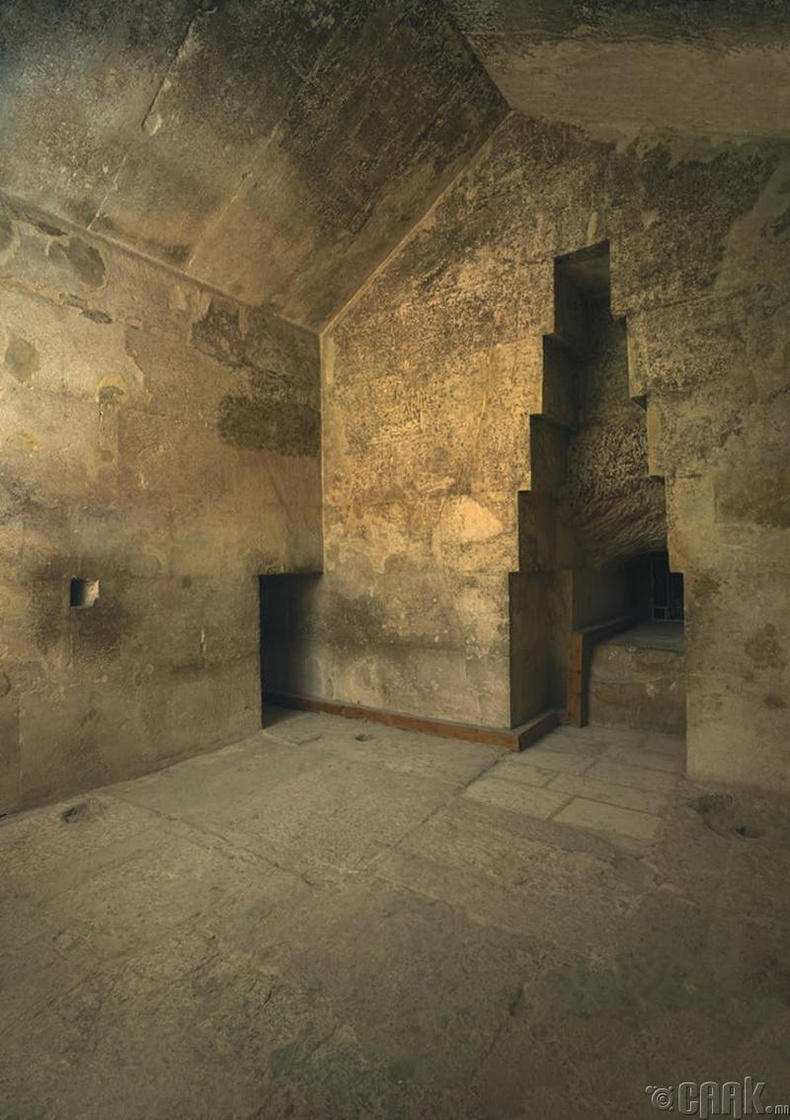 Пирамид доторх нууц өрөө