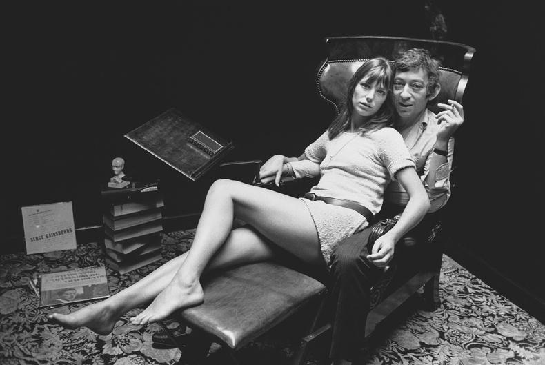 Серж Генсбур болон Жейн Биркин, Парис, 1969 он.