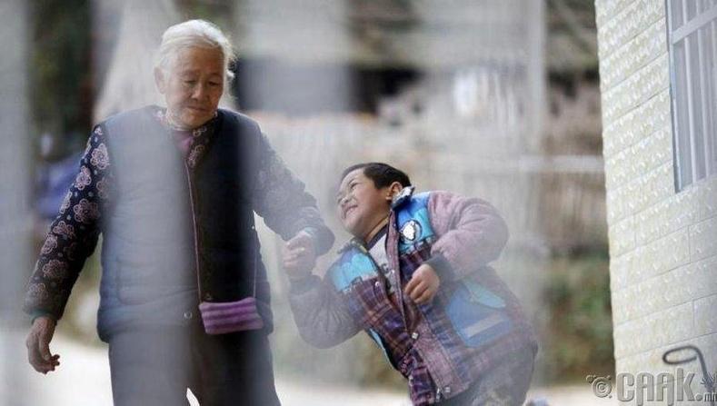 Бүх хариуцлага эмээгийн нуруун дээр
