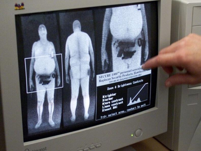 Сканнер таныг чармай нүцгэн болгож харагдуулдаг