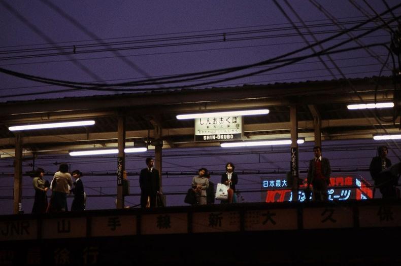 Шин Окубо буудал -Токио хот, 1976он