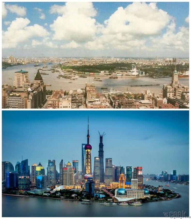 Шанхай, Хятад: 1990 он - Одоо
