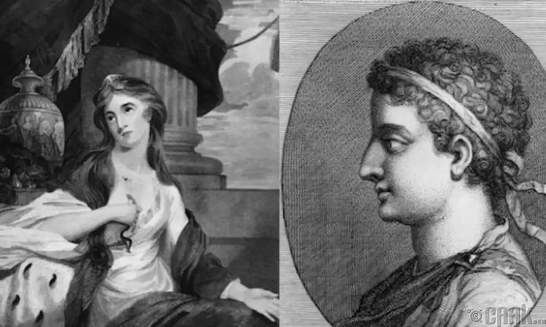 Клеопатра, ба Птолемей XIII