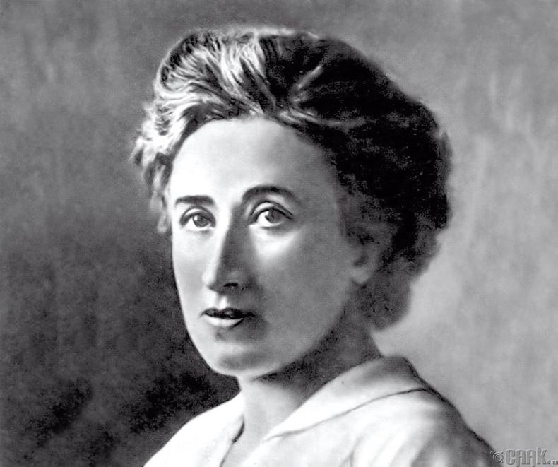 Роза Люксембург  (Rosa Luxemburg) 1871 – 1919