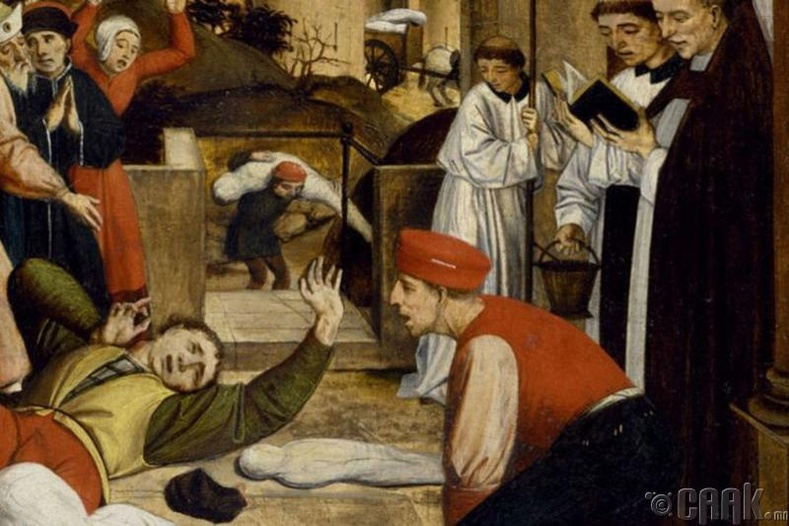 Антониний тахал - 5 сая хүн үхсэн
