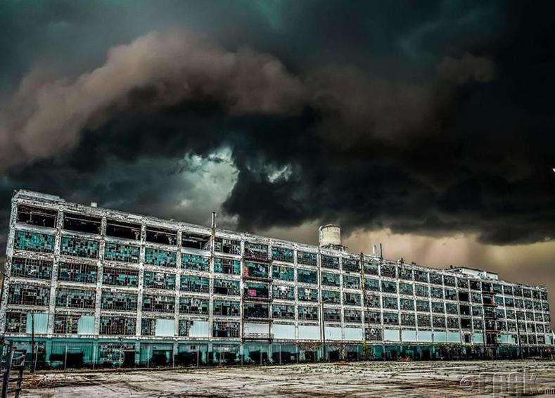 """""""Fisher Body"""" үйлдвэрийн хаягдсан барилга - Детройт"""