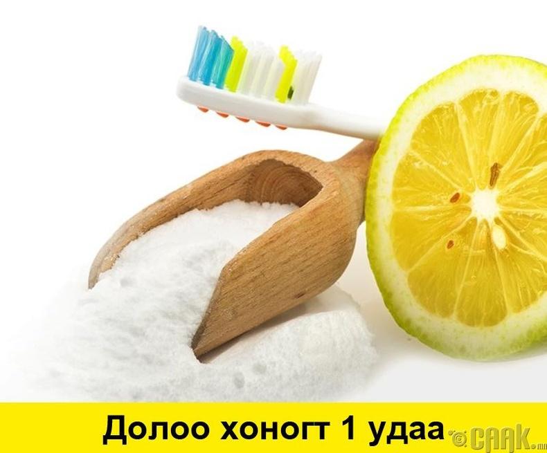 Сода, нимбэгний шүүс