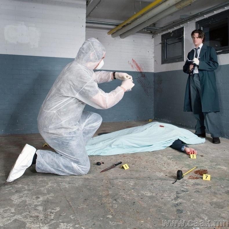 Гэмт хэргийн ул мөр цэвэрлэгч