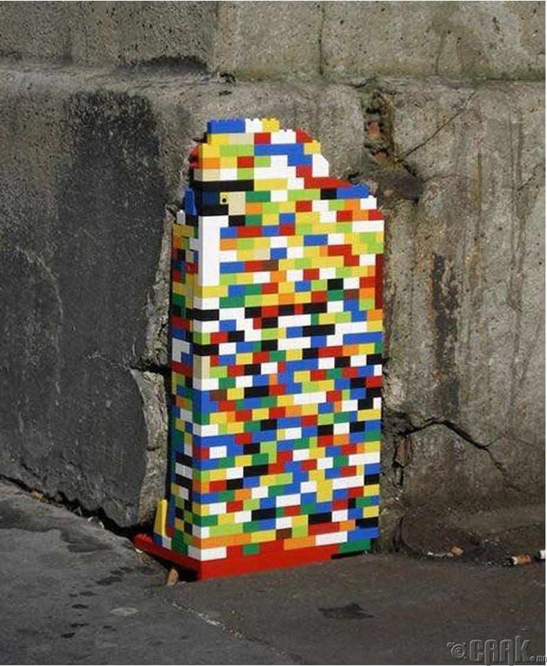 Жан Ворманы лего төсөл