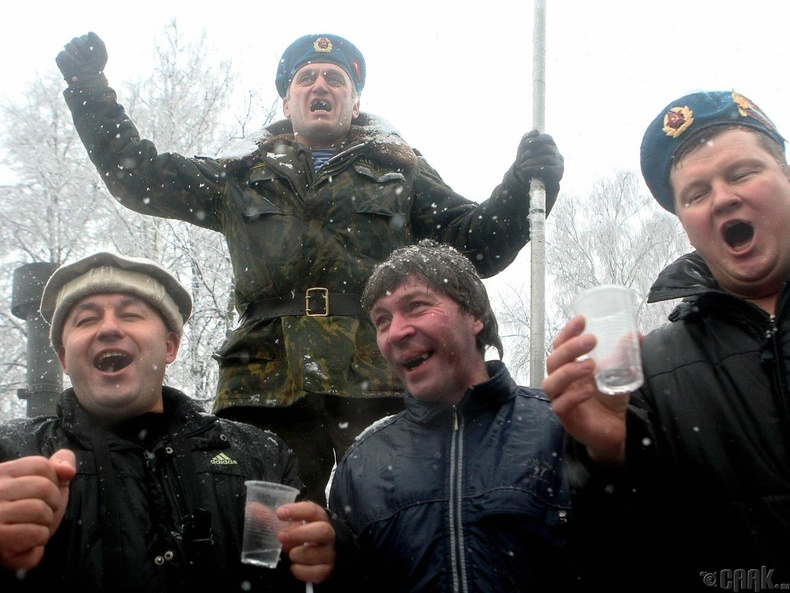 Хувьсгалаас өмнө Орос улс архидалтын төвшин хамгийн бага орон байв