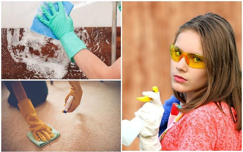 Гэр цэвэрлэх нүсэр ажлыг инээд хүрэм амархан болгох 15 заль