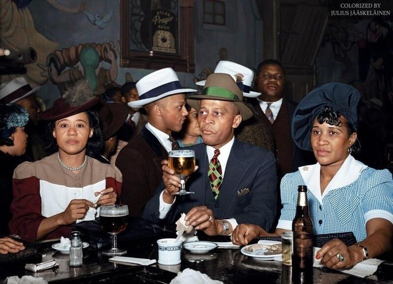 Чикаго дахь Африк хоолны газар, 1941 оны 4-р сар.