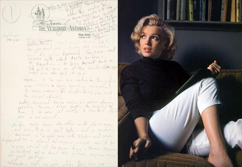 Мэрилин Монрогийн сэтгэл зүйчдээ явуулсан гунигт захидал