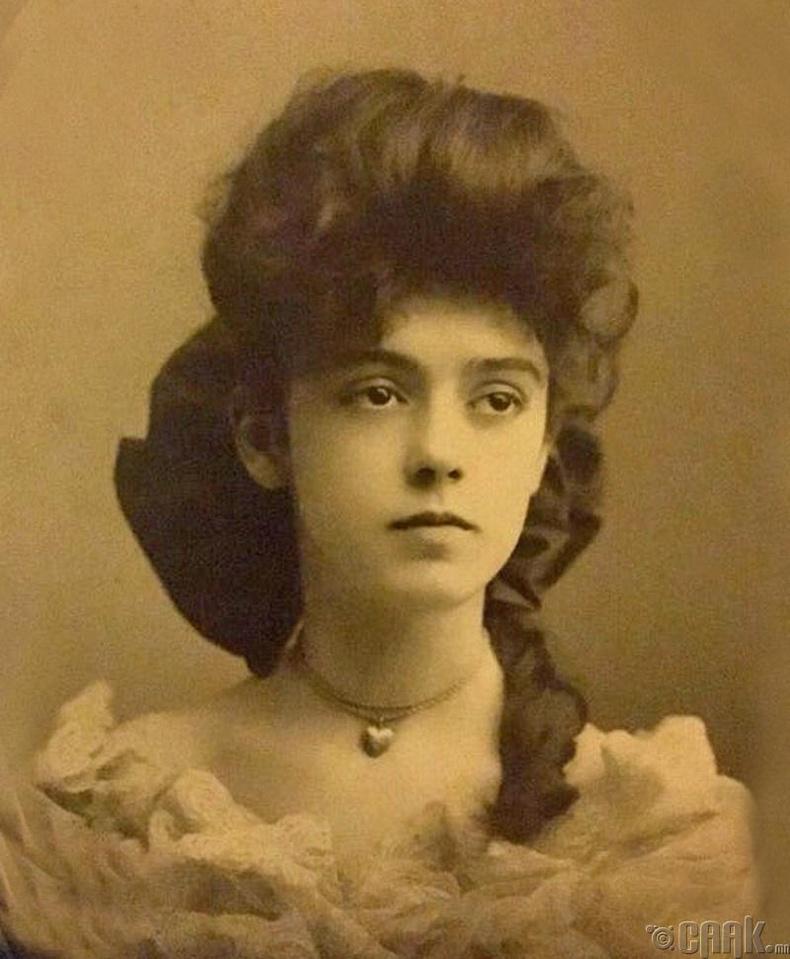 Англи бүсгүй - 1890 он