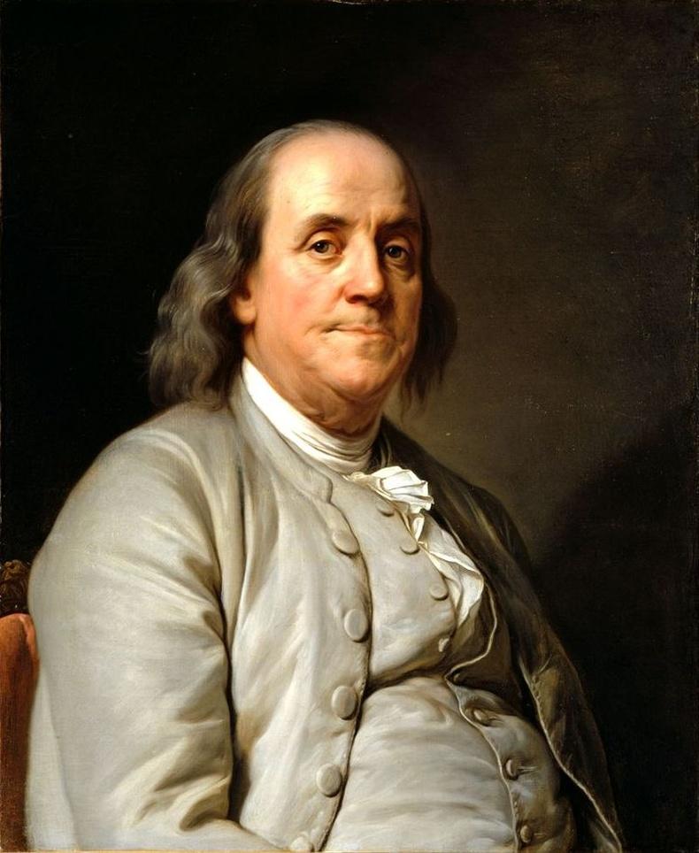 Америкийн улс төрч, зохион бүтээгч, эрдэмтэн, философич Бенжамин Франклин (Benjamin Franklin)