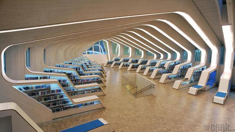 Веннесла хотын номын сан, Норвеги