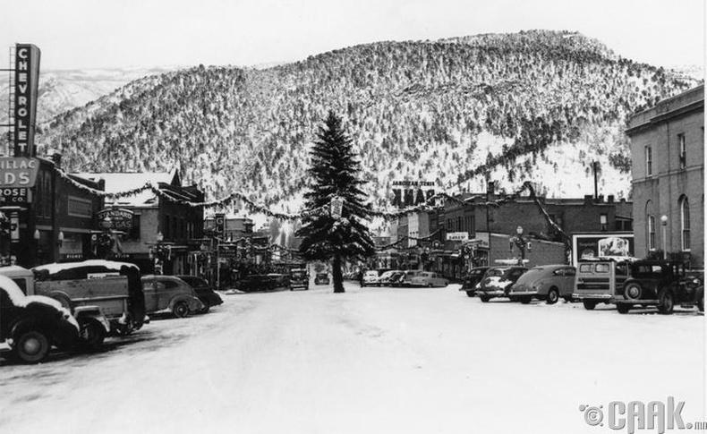 АНУ-ын Гленвүүд хотод зул сарын өдөр - 1949 он