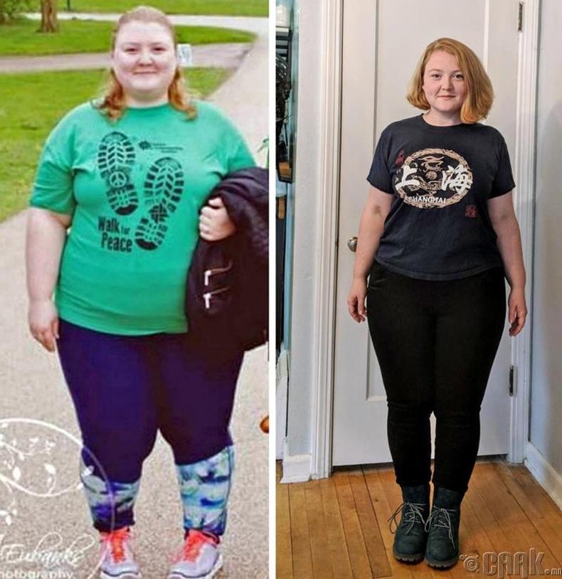 Тэрээр хоёр жилийн дотор 50 кг жин хассан байна