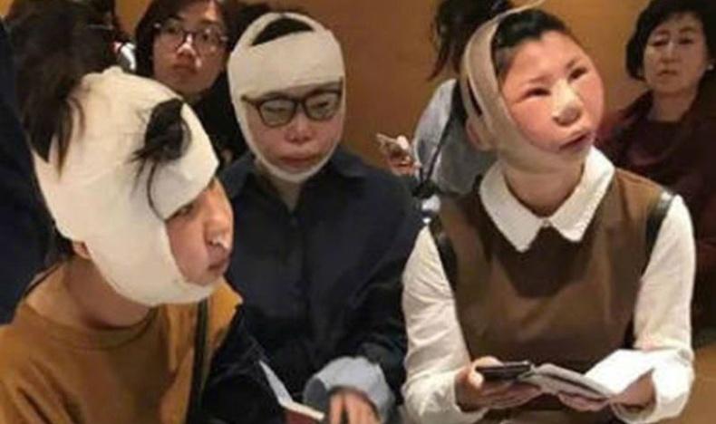 Хятад бүсгүйчүүдийг Солонгосын онгоцны буудал дээр саатуулжээ