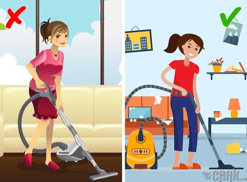 Бид бодохдоо: Өдөр болгон гэрээ цэвэрлэх хэрэгтэй