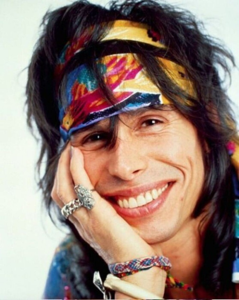 Aerosmith хамтлагийн ахлагч Стивен Тайлер, 1988 он.