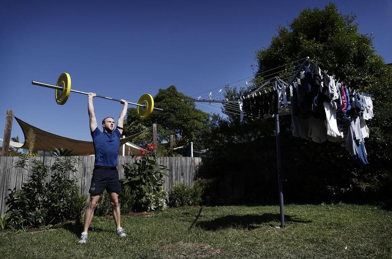 Мэтт Уилсон, Австралийн цээжний усанд сэлэлтийн тамирчин