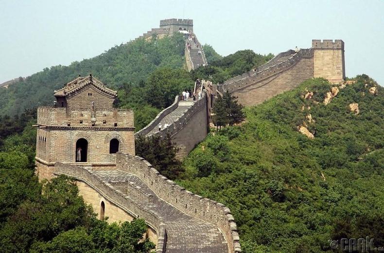 """""""Хятадын цагаан хэрэм сансраас харагддаг"""""""