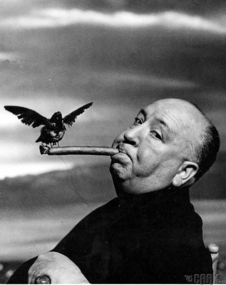 Найруулагч Альфред Хичкок, 1962 он