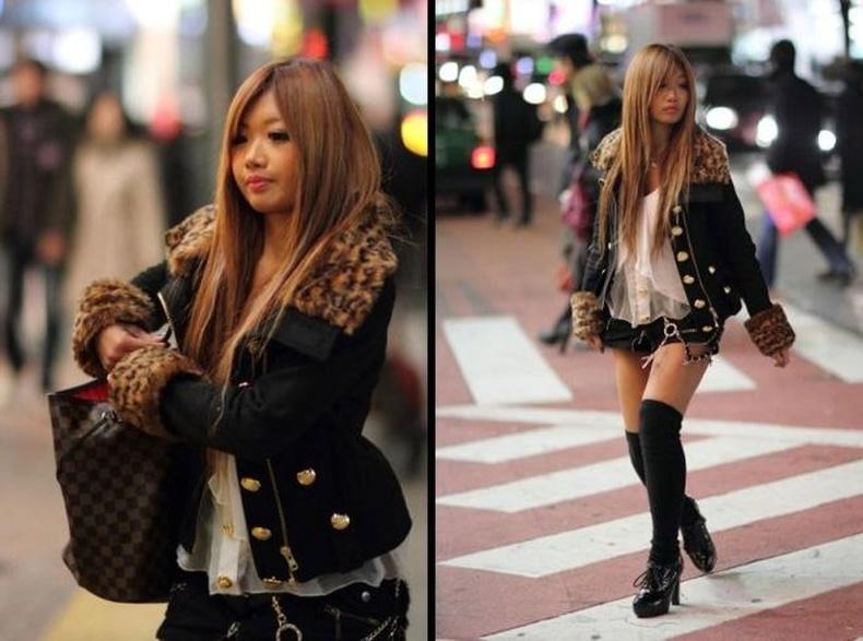 Япон охидын бодит төрх