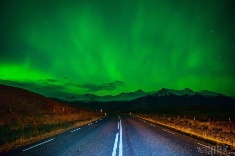 Бөгжний зам, Исланд