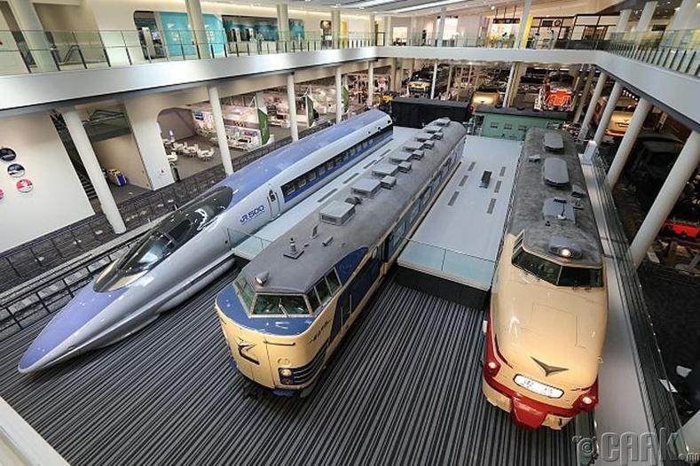 Хамгийн том галт тэрэгний цуглуулга