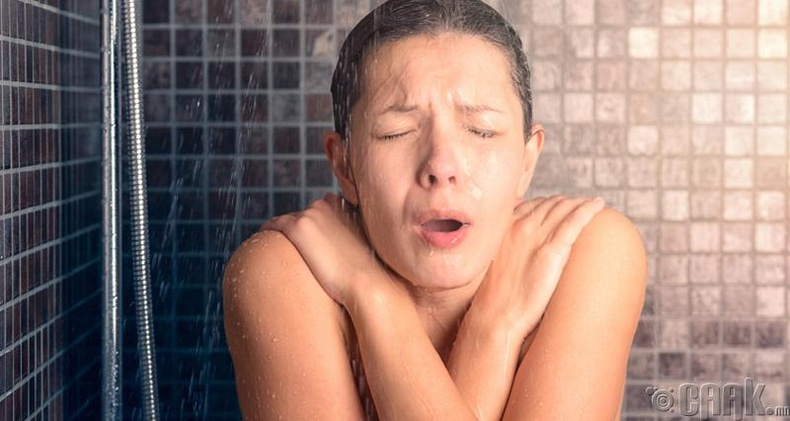 Зөвхөн халуун усанд орох