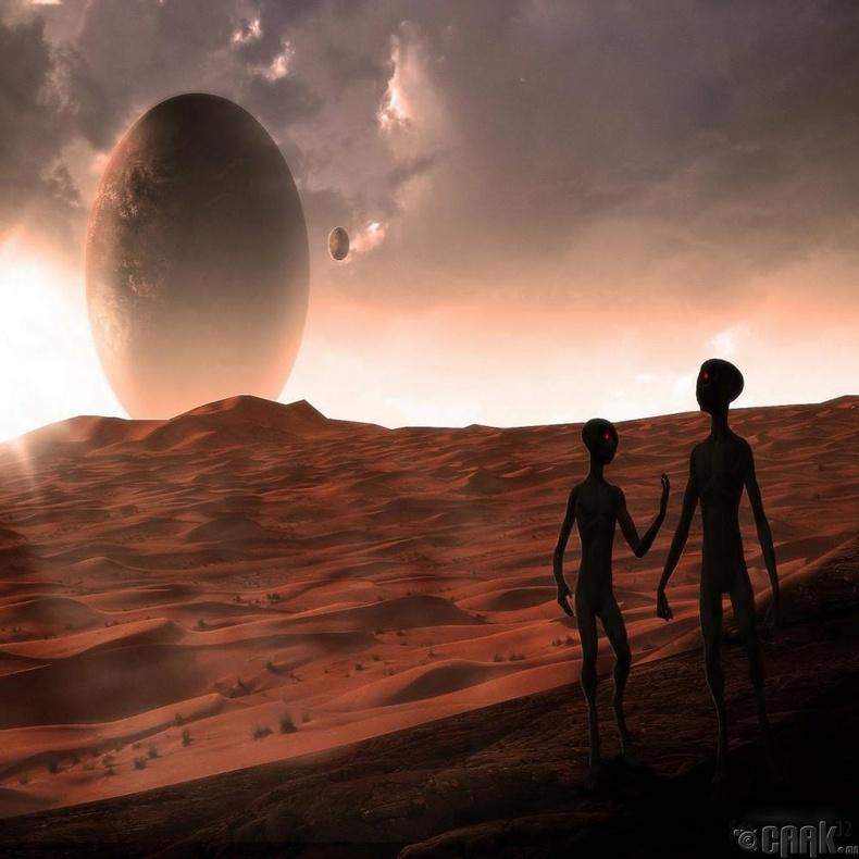 Ангараг гарагт амьдрах боломжтой байсан