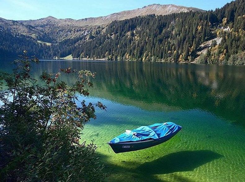 Шинэ Зеландын Цэнхэр нуур нь дэлхийн хамгийн цэнгэг устай нууруудын нэг