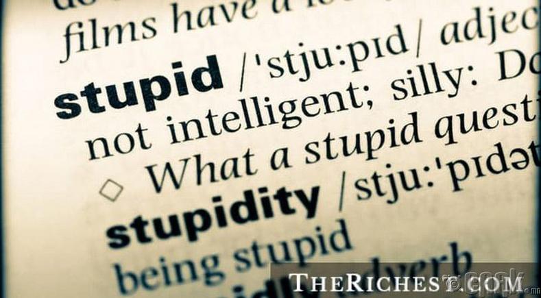 Тэнэглэл бол хамгийн том нүгэл