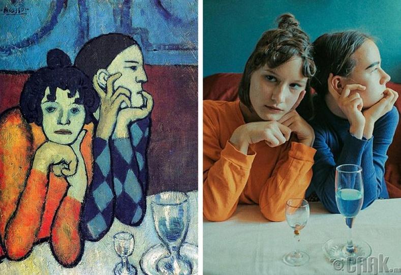 """Пабло Пикассо - """"Арлекин найз охинтойгоо хамт"""""""