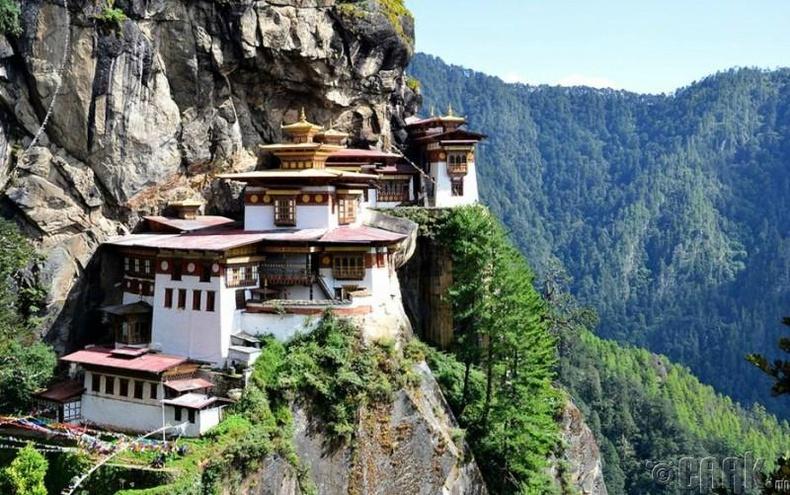 """""""Taktsang Lhakhang"""" сүм, Бутан"""