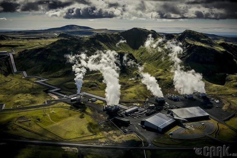 Нүүрсний диоксидыг чулуу болгон хувиргагч