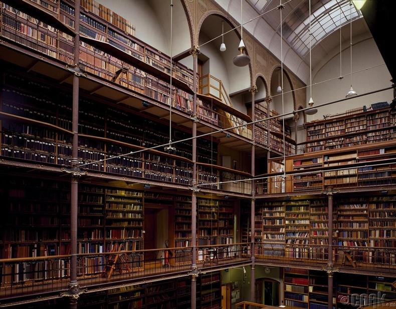 """""""Райксмузеума"""" номын сан, Амстердам, Нидерланд"""