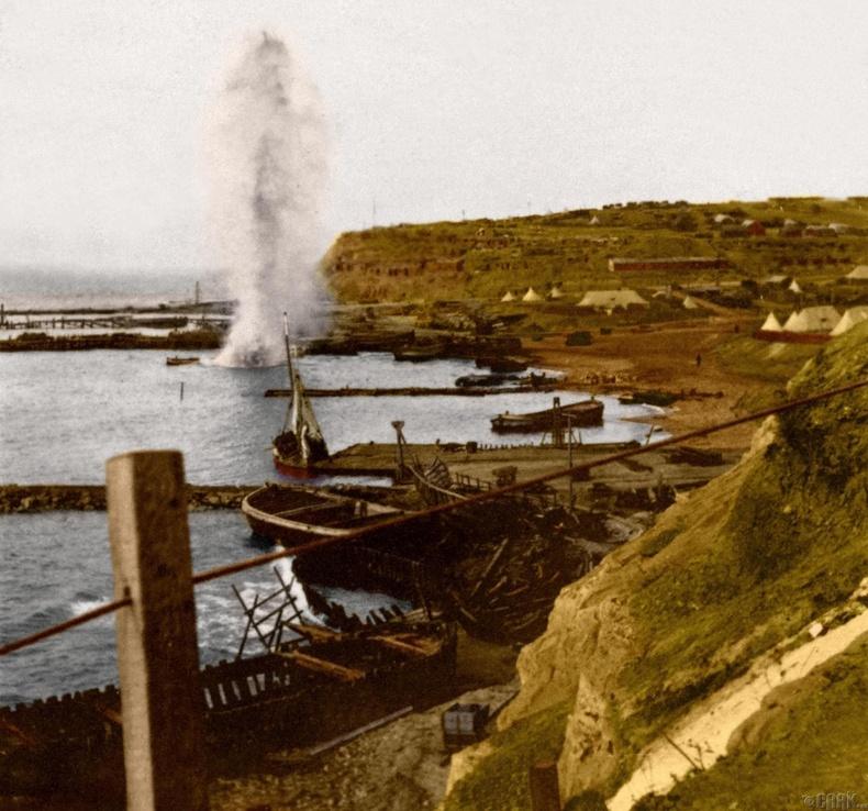 Галлиполийн эрэг дээрх дэлбэрэлт, 1915 он