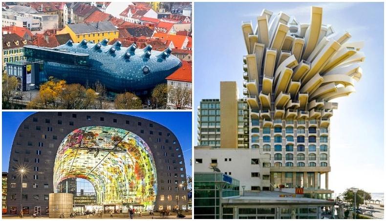 Хотын үзэмжид өнгө нэмсэн гайхалтай барилгууд
